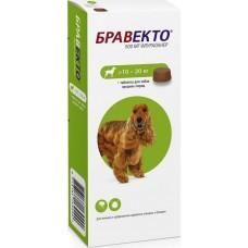 Бравекто Bravecto - от клещей и блох для собак, 500 мг (10 - 20 кг)