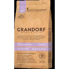 Grandorf Turkey & Brown Rice Adult Mini