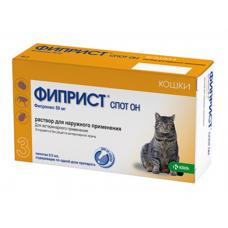 Фиприст Спот-он капли для котов и кошек 0,5 мл (KRKA)