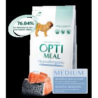 Optimeal Hypoallergenic - корм для собак (Лосось)