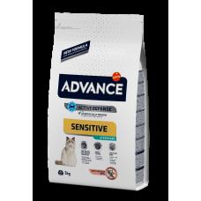 Advance Cat Streilized Sensitive (Лосось) - корм для стерилизованных кошек