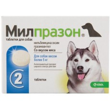 KRKA Милпразон для собак более 5 кг