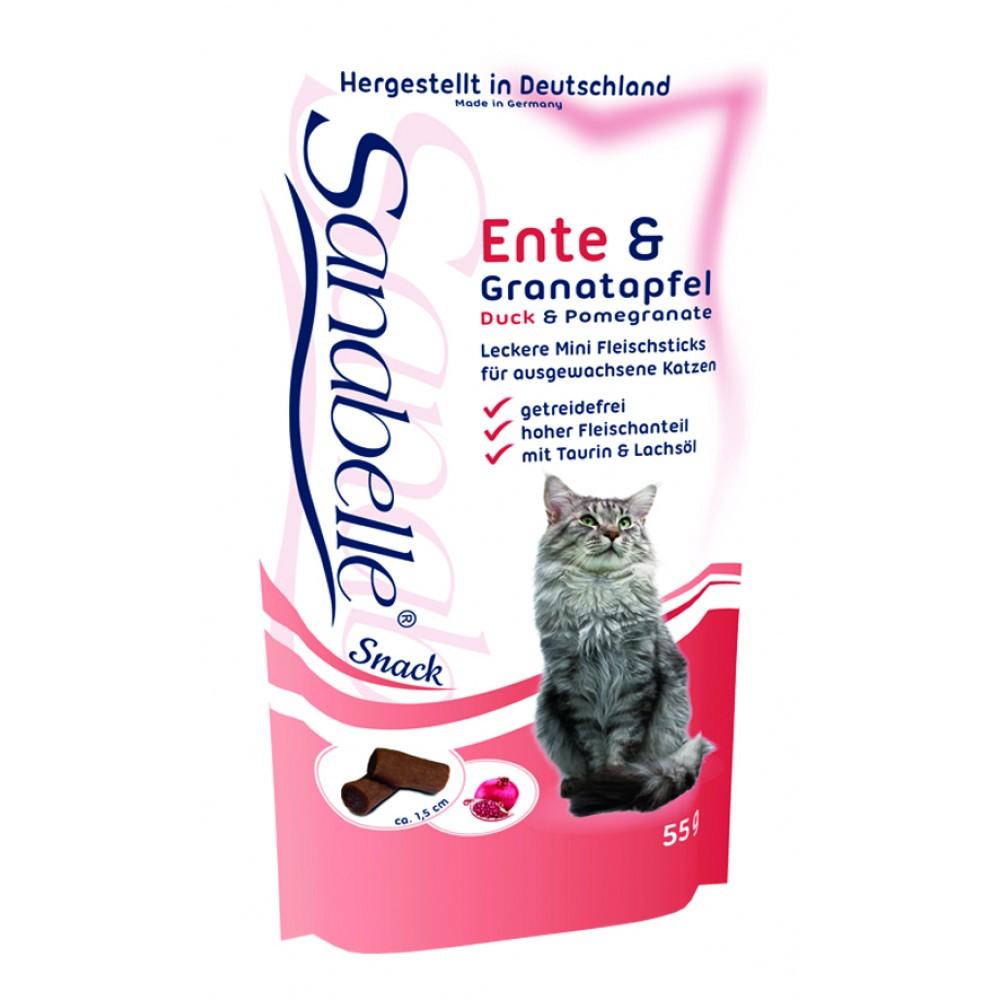 Bosch Sanabelle лакомство для кошек, утка с гранатом, 200 г