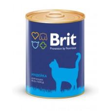 BRIT TURKEY - консервы для кошек Индейка - 340 г (арт. 9402)