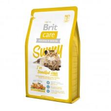 Brit Care Cat Sunny Beautiful Hair - корм для кошек, для ухода за кожей и шерстью