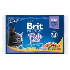 Brit Cat Fish Plate - пресервы для кошек Рыбная тарелка