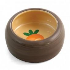 Triol Миска керамическая Морковка 0,1 л (арт. ТР 30231003)