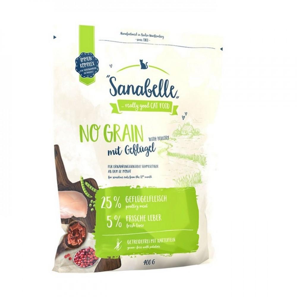 Bosch Adult Sanabelle No Grain - беззерновой корм для взрослых кошек с чувствительным пищеварением