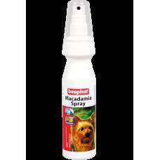 Beaphar Macadamia Spray - спрей с маслом австралийского ореха для длинношерстных собак, 150 мл (арт. DAI12558)