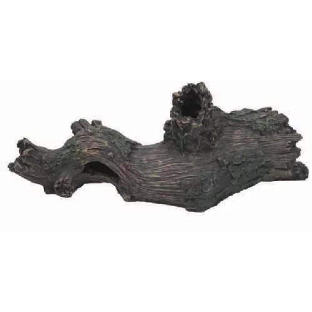 AQUAEL Декорации Коряга пластиковая L.TREE LOG CH-6655, 33×12×14 см (арт. TYZ201194)