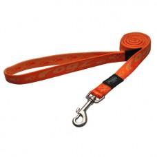 Rogz поводок для собак нейлоновый Alpinist оранжевый, несколько размеров