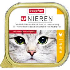 BEAPHAR Kidney diet Chicken - полнорац. диет. корм для кошек с хрон. почеч. недостат., 100 г (с куриной грудкой) (арт. DAI10888)