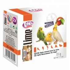 LOLO Pets Минеральный камень с яблоком для всех птиц (арт. LO 72055)