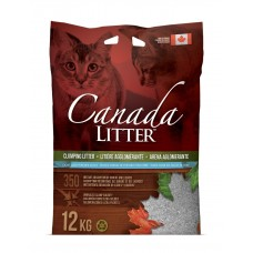 Canada Litter - комкующийся наполнитель из бентонита Запах на замке с ароматом детской присыпки