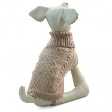 Triol - Свитер для собак, бежевый (ТР 12271349, 12271352)