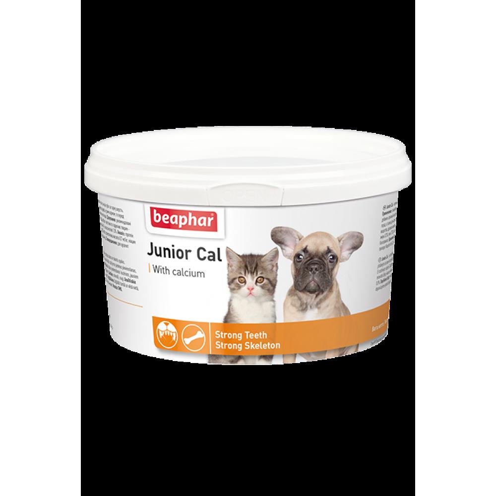 Beaphar Junior Cal - Минеральная смесь для щенков (для укрепления скелета, зубов) 200 г (арт. DAI10321)