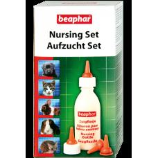 Beaphar Nursing Set - набор для вскармливания мелких дом. животных (бутылочка, 4 соски и ершик) (арт. DAI11246)