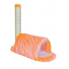 Redplastic Домик-когтеточка Zoo-M YETI Orange Тоннель 40*100*140 см (арт. 8251бк)