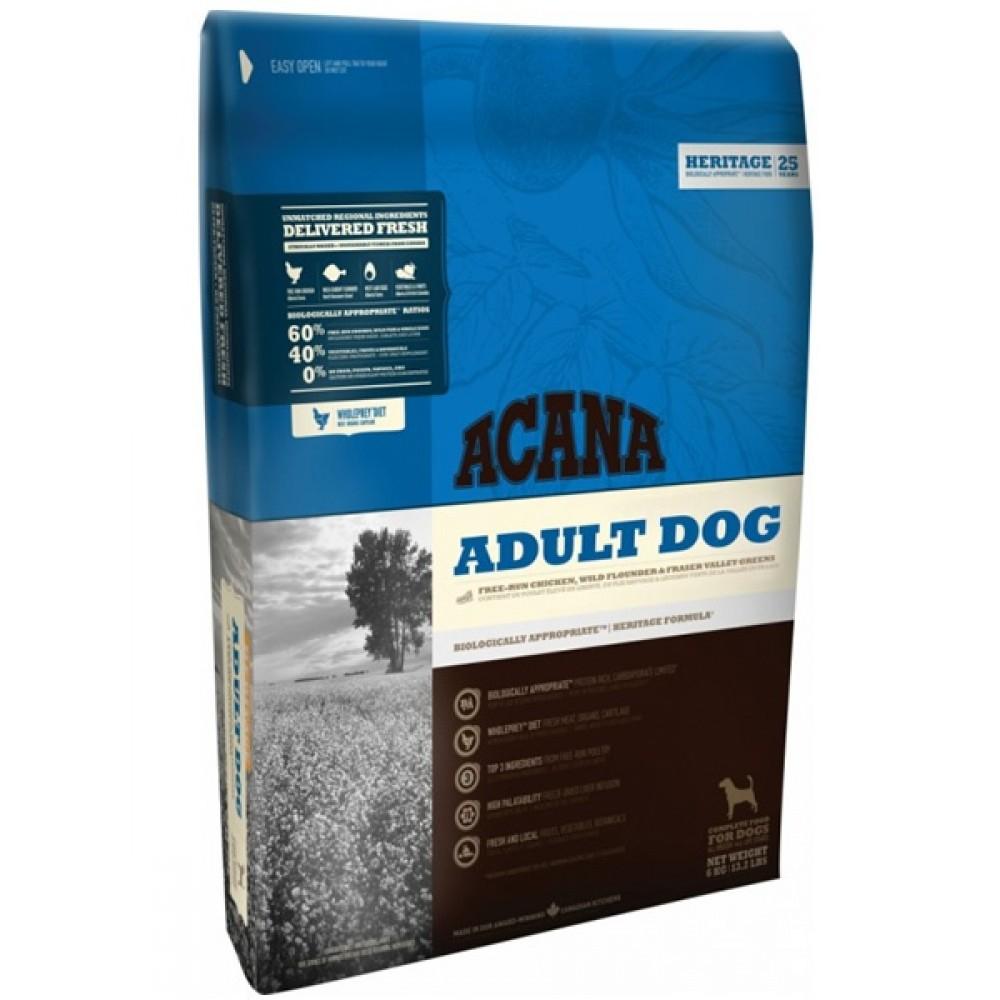 ACANA Adult dog (60/40) - корм для собак всех возрастов и пород, с мясом цыпленка