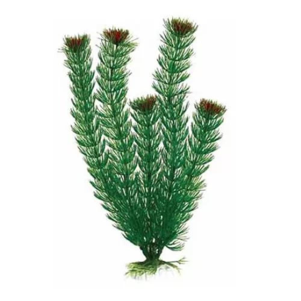 AQUAEL Растение пластиковое AP-005 4, 10 см (арт. TYZ201484)