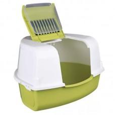 MP Bergamo Туалет-бокс угловой формы с фильтром ARIEL CORNER 58*47*38 см (арт. TYZ 31.06MIX)