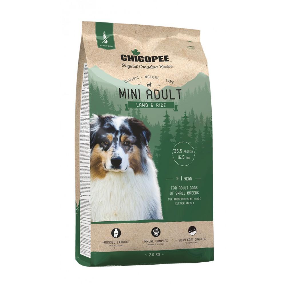 Chicopee CNL Mini Adult Lamb & Rice - корм для взрослых собак миниатюрных пород, ягненок/рис