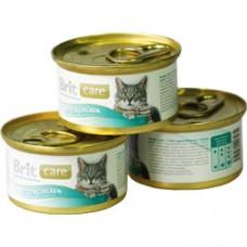 Brit Care Kitten Chicken консервы для котят с цыпленком, 80 г (арт. 100061)