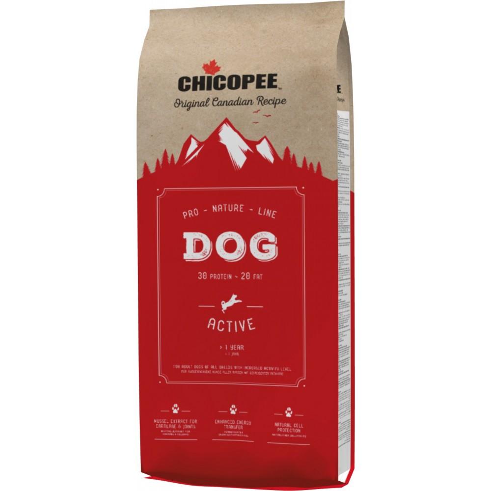 CHICOPEE PNL Active - корм для взрослых собак всех пород с высокой активностью