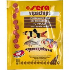 SERA vipachips — корм для всех придонных рыб (арт. TYZ 516, 514)