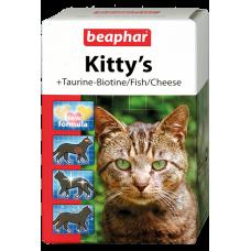 Beaphar Kitty's MIX - Кормовая добавка д/кошек с таурином, биотином, протеином (арт. DAI12506, DAI12595)