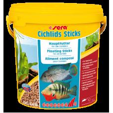 Sera Cichlids Sticks — корм для крупных цихлид, 10 л (2 кг) (арт. TYZ 220)
