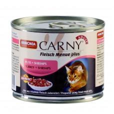 Carny Adulte - консервы для кошек, говядина, индейка, креветки (200 г, 400 г) (арт. ВЕТ83708, ВЕТ83724)