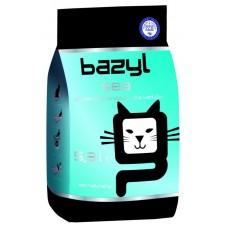 BAZYL Sea наполнитель комкующийся для кошачьего туалета бентонитовый с морским ароматом