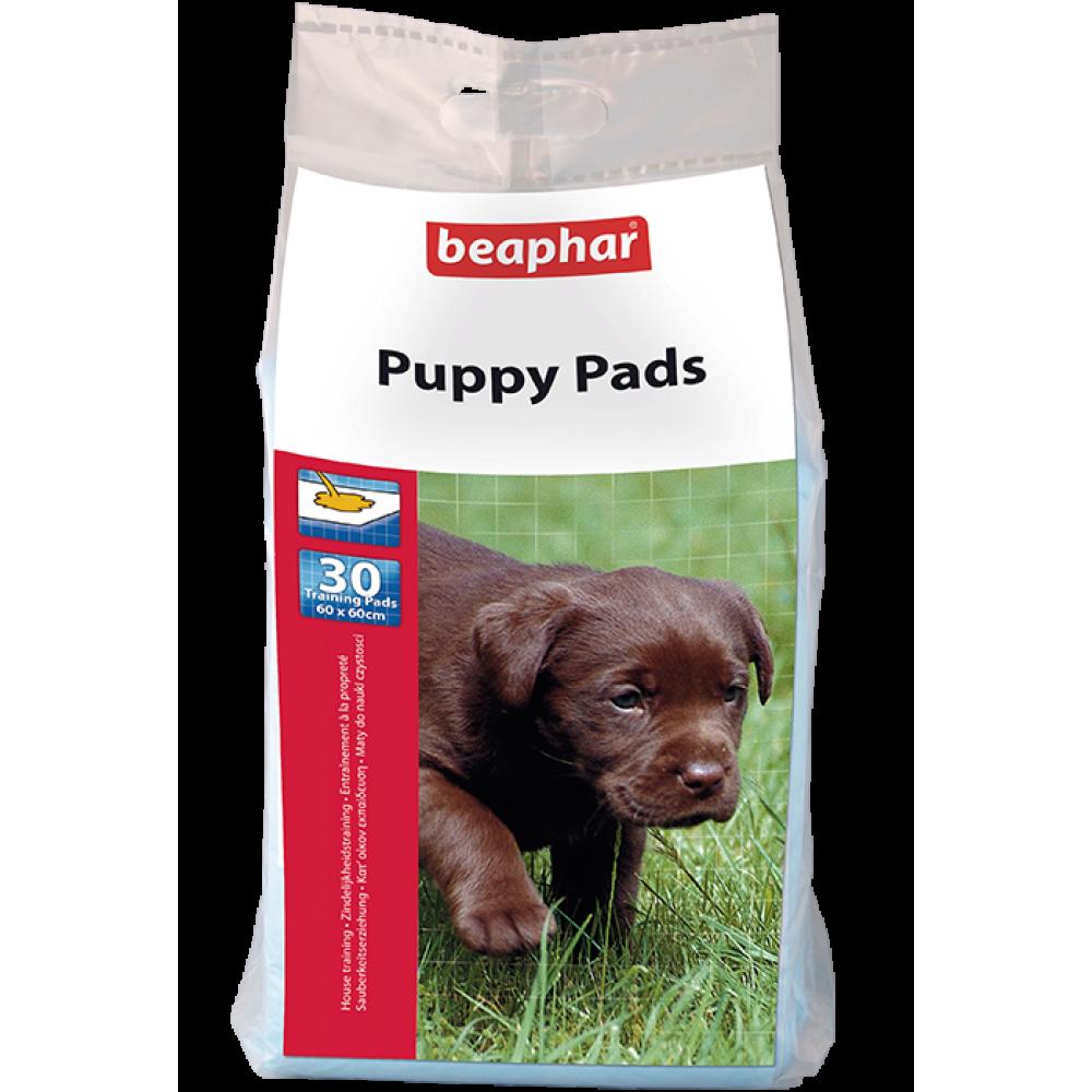 Beaphar Bea Puppy Pads - приучающие пелёнки для щенков, 30 шт. 60х60 см. (арт. DAI17133)