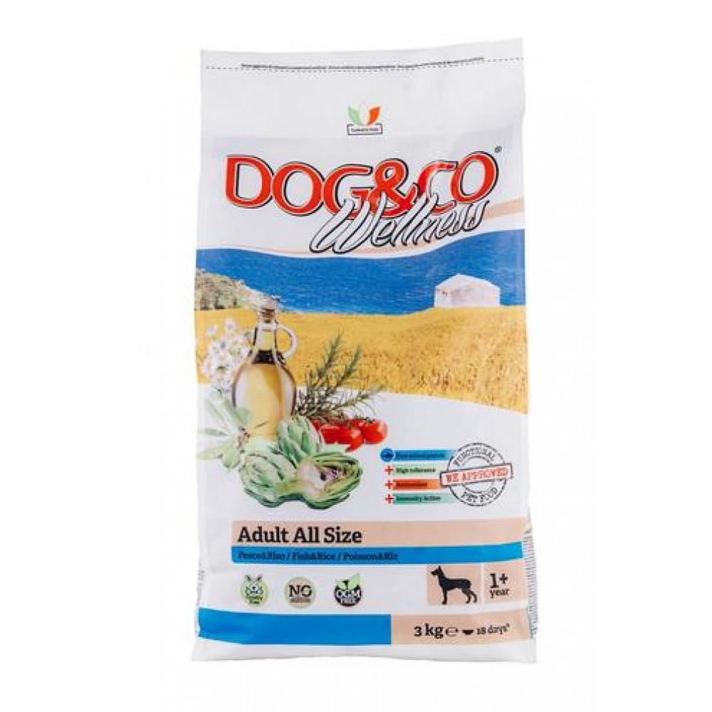 Adragna ADULT ALL SIZE Fish & Rice 24,5/14 - корм с фитокомплексом для собак всех пород, рыба с рисом