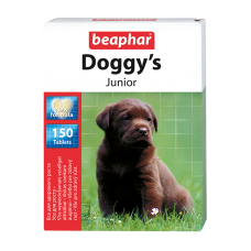 Beaphar Doggy's Junior - Кормовая добавка для щенков с 6 недель, 150 шт. (арт. DAI12575)