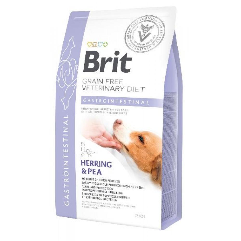 Brit Veterinary Diet Dog Gastrointestinal диетический полнорационный сухой корм для щенков и взрослых собак