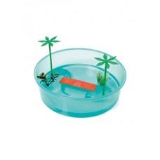 Georplast Контейнер Round turtle tray, 26*7 см (арт. TYZ10622)