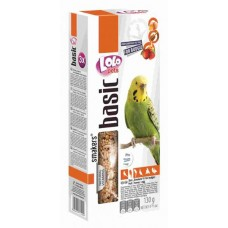 LOLO Pets Smakers ® 3 в 1 для волнистых попугаев (фрукты/мед/яйцо) (арт. LO 72109)