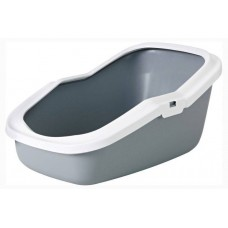 Beeztees Туалет-лоток Aseo серый 56*39*27см (арт. ВЕТ400495)