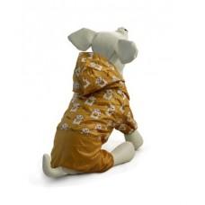 Triol - дождевик Костюм для собак, cпорт коричневый (арт. ТР 12251085, 12251086, 12251087)