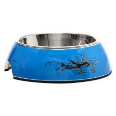 ROGZ Миска для собак Bowlz Small TurQ Chrome SMALL (160 мл) (арт. TYZ RBOWL01BK)