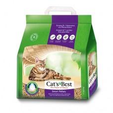 Cats Best Smart Pellets - наполнитель комкующийся древесный для длинношерстных кошек