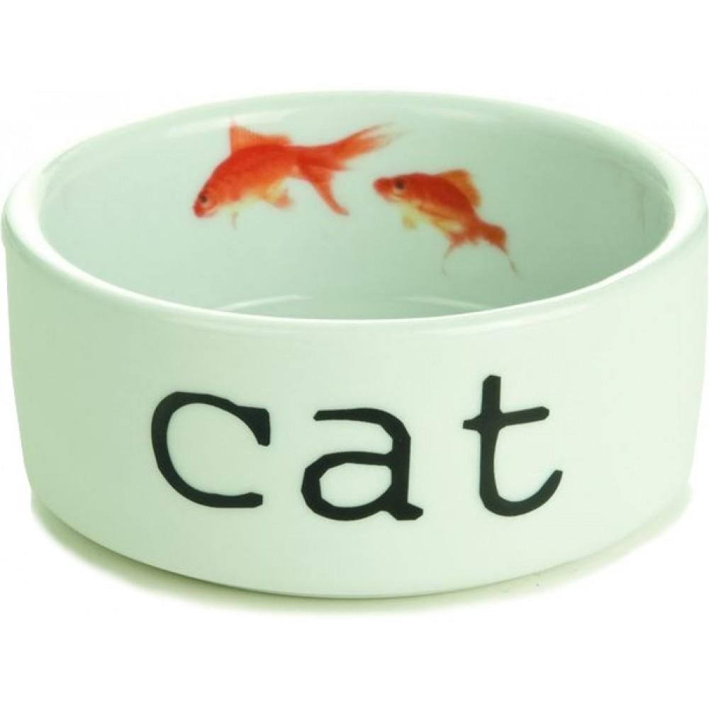 Beeztees Миска для кота керамическая 11,5x4 cm - 0,3 л