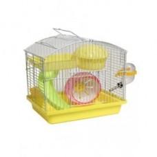 HAPPY Animals Клетка для грызунов (несколько размеров) желтая