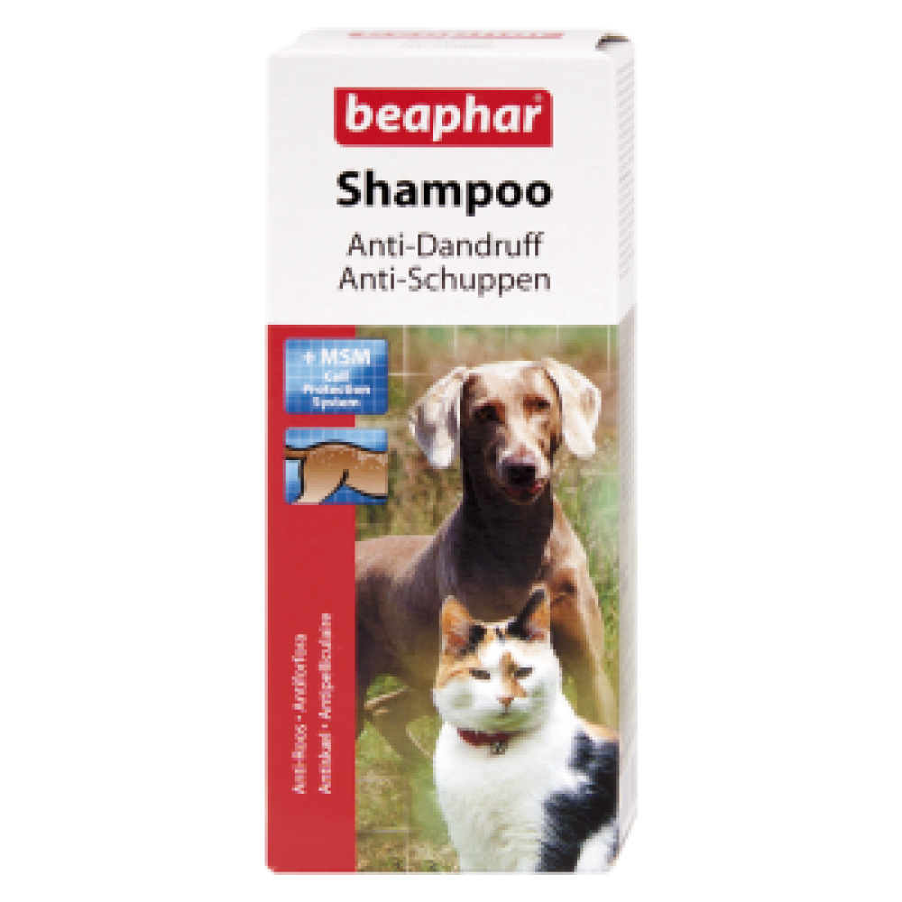 Beaphar BEA SHA ANTI DANDRUFF 200ml/ Шампунь против перхоти для собак и кошек, 200мл (арт. DAI15291)