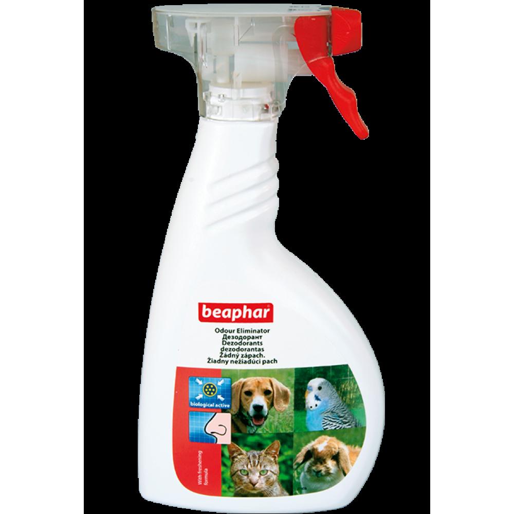 Beaphar Odour killer - дезодорант для уничтожения неприятных запахов кошек, 400 мл (арт. DAI13048)