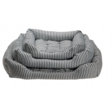 Comfy Stripes лежак для собак прямоугольный с подушкой