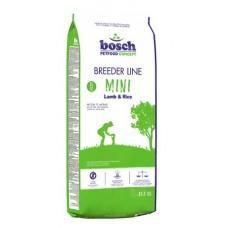 Bosch Breeder Mini Lamb & Rice - корм для маленьких собак (ягненок) 20 кг