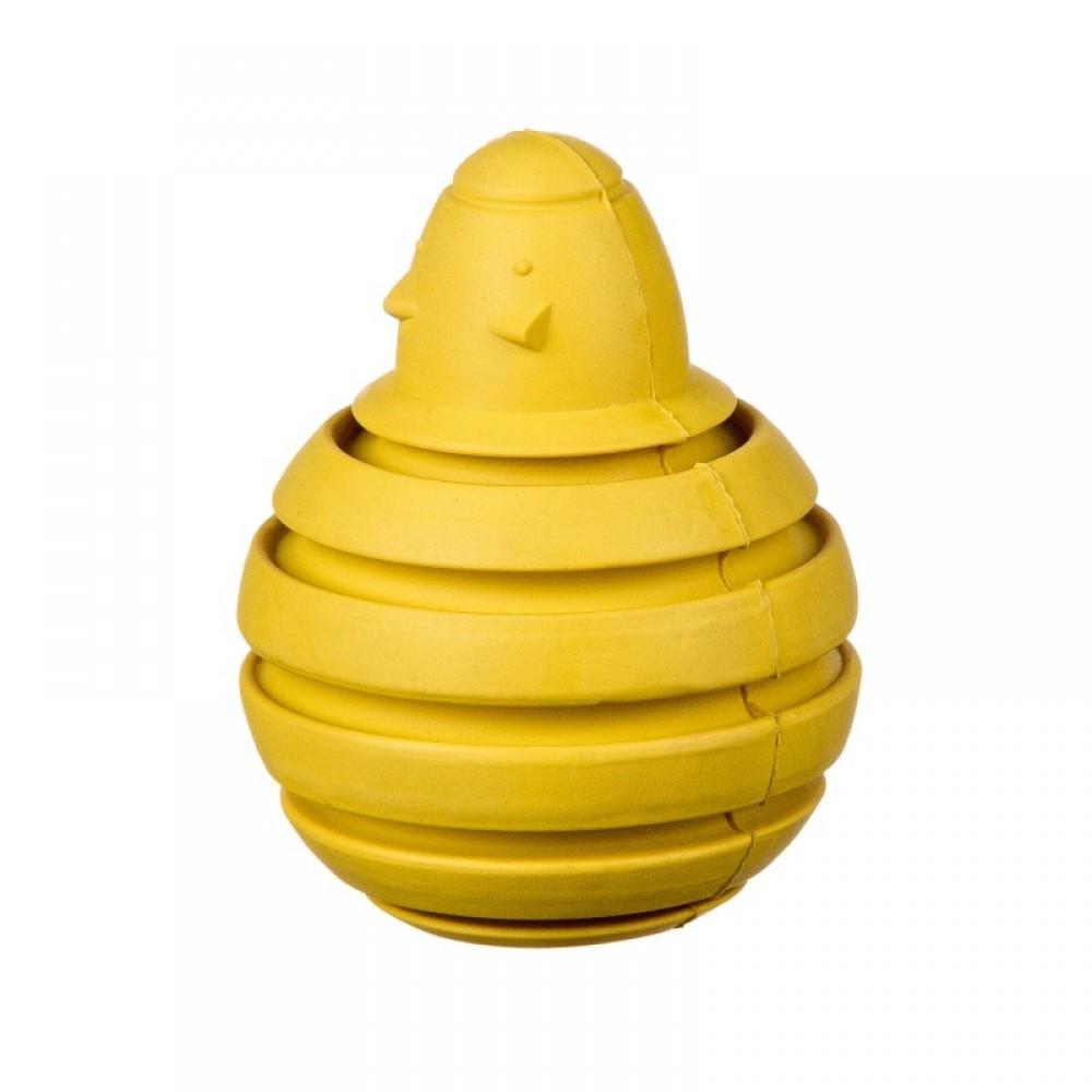 Barry King мышь для лакомств, желтая, L 10 см (арт. BK-15409)